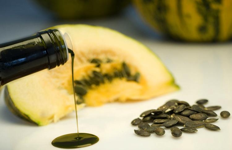 Свежее тыквенное масло