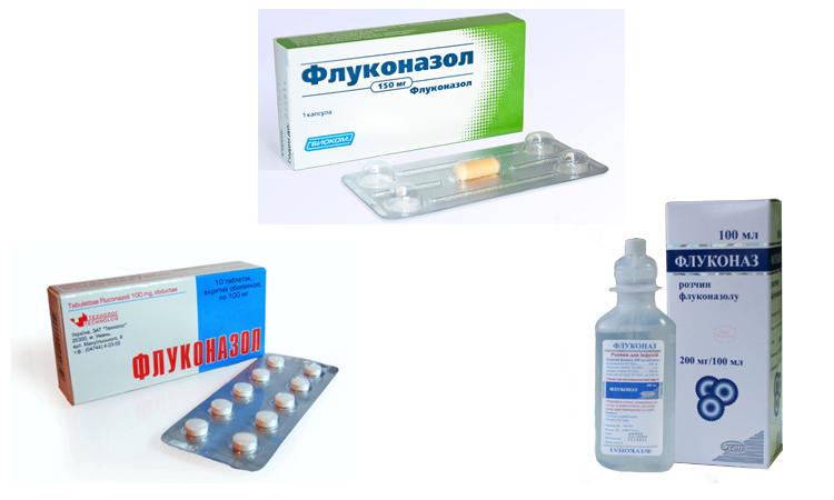 Флуконазол - формы выпуска
