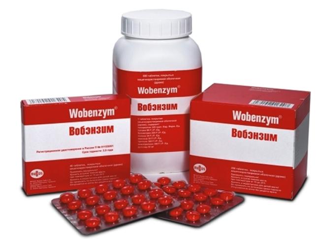 Препарат Вобэнзим