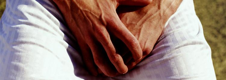 У мужчины небактериальный простатит