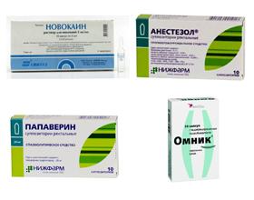 Обезболивающие препараты при простатите